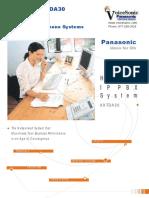 Panasonic KX TDA30SA