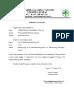 Surat Keterangan Pengobatan TB Paru.doc