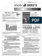 Chavornay Infos 17 septembre 2010