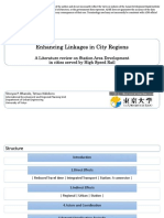 Enhancing Linkages in City Regions