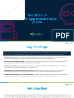 AppsFlyer Fraud Data Study - Verticals and Geo_April 2018