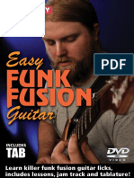 Easy Funk Fusion Tab Booklet