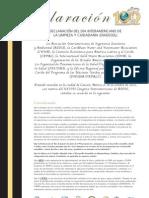 Declaración del Día Interamericano de la Limpieza y Ciudadanía - DIADESOL