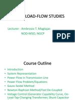 Load Flow Analysis