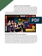 Situs Judi Poker Terpercaya Pokerhotbet888