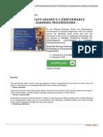 0325048096 Writing Pathways Grades k 5 Performance Assessme