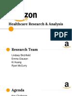 amazon research   analysis presentation