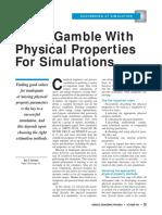 simulation physical chemcad