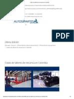 Clases de Talleres de Mecanica en Colombia