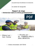 Rapport Du Stage .