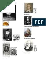 Imágenes de los personajes de la historia de la electricidad