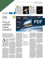Paz, El Satélite Radar Español