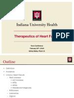 therapeutics of heart failure 2
