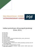 Ultrasonografi Ginekologi