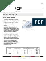 Water Absorption Test ASTMC140