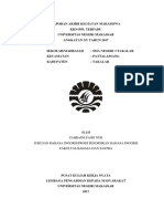 Laporan Proker Bahasa Inggris (Aini)