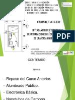 Presentación de Diapositiva de Curso II electricidad basica