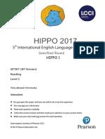 Reading Hippo 1