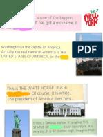 Melanie's E-mail About America