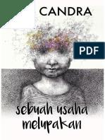 [Ebook] Boy Candra - Sebuah Usaha Melupakan.pdf