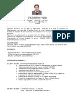 CV.paul MORAN IngenieroMecánico