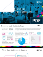 2018 IDG Digital Business Survey