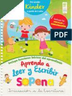Aprendo a Leer y Escribir Sopena Kinder