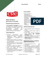 TDS Limpiador de Contactos QD Contact Cleaner