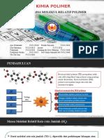 Ppt Kimia Polimer (Massa Molekul Relatif)