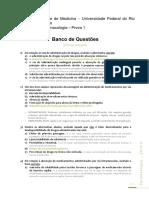 Banco de Questões Farmaco Geral e do SNA
