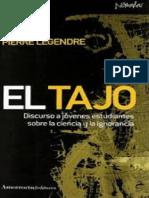 El Tajo_ Discurso a Jovenes Est - Pierre Legendre