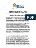 Counselling Prayers for 1 Web