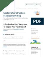 9 Auditorium Plan Templates to Inspire Your Next Project - Capterra Blog