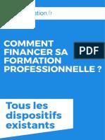 Financement Formation Professionnelle