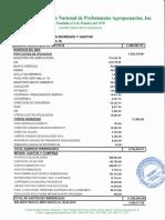 Informe Financiero ANPA, Febrero 2018