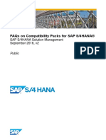 FAQs on Compatibility Packs for SAP S4HANA