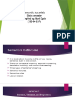 Semantic Review