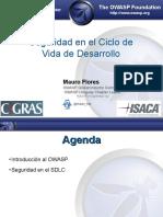 Cigras 2012 06 Seguridad en El Ciclo de Vida de Desarrollo Mauro Flores