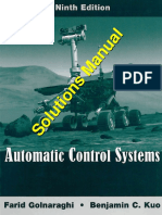 Automatic Control System Solutions Ch1- Ch6