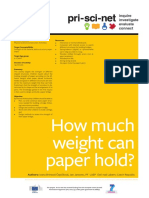 5 How Much Weight Can Paper Hold