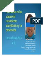 Accidentes en Las Etapas Del Tratamiento Endodontico y Su Prevencion