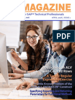 ERP Magazine April 2018 Issue 1 - The Magazine for SAP ABAP Professionals