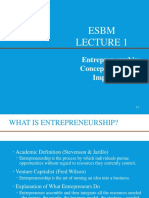 Foundations of Entrepreneurship (1)