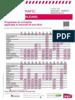 04 Avril 2018 Axe Orléans - Vierzon- Argenton Sur Creuse (LIMOGES)