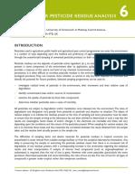 Sampling for Pesticide Residue Analysis