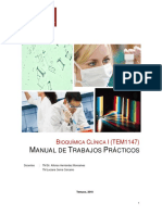 Manual Laboratorio Bioquímica Clínica I 2018
