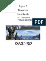 Bryce Handbuch v1 Wilkommen