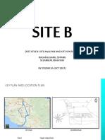 SITE B bagan lalang site analysis