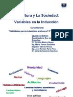 Cultura y Sociedad Variables en La Inducción