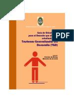 Guía de Orientación Para Docentes Con Estudiantes TGD